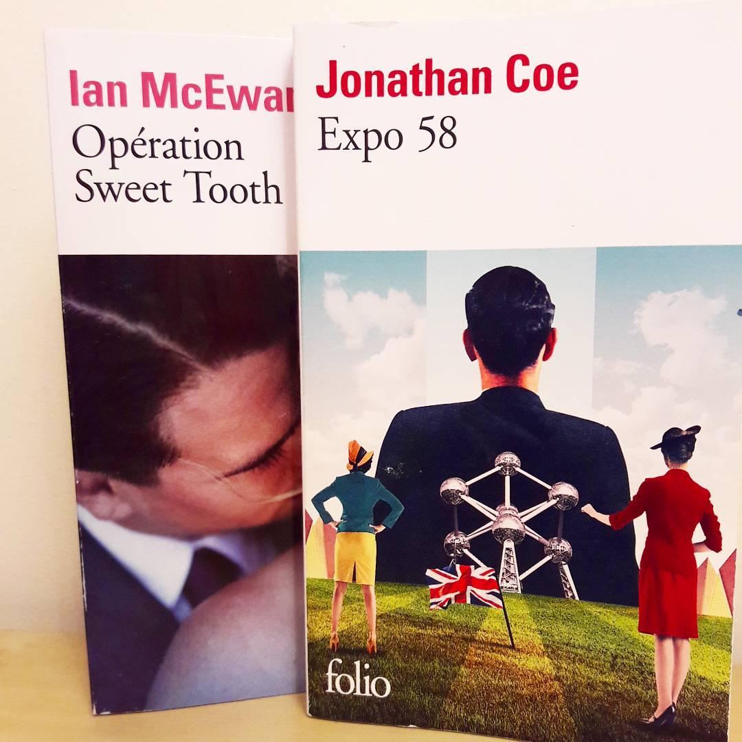 Couvertures Jonathan Coe Ian McEwan
