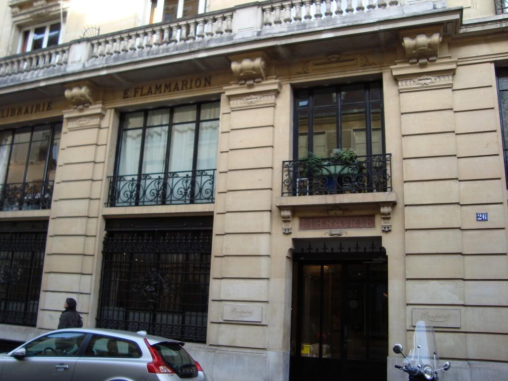 Une ancienne librairie Flammarion qui nen nest plus une...