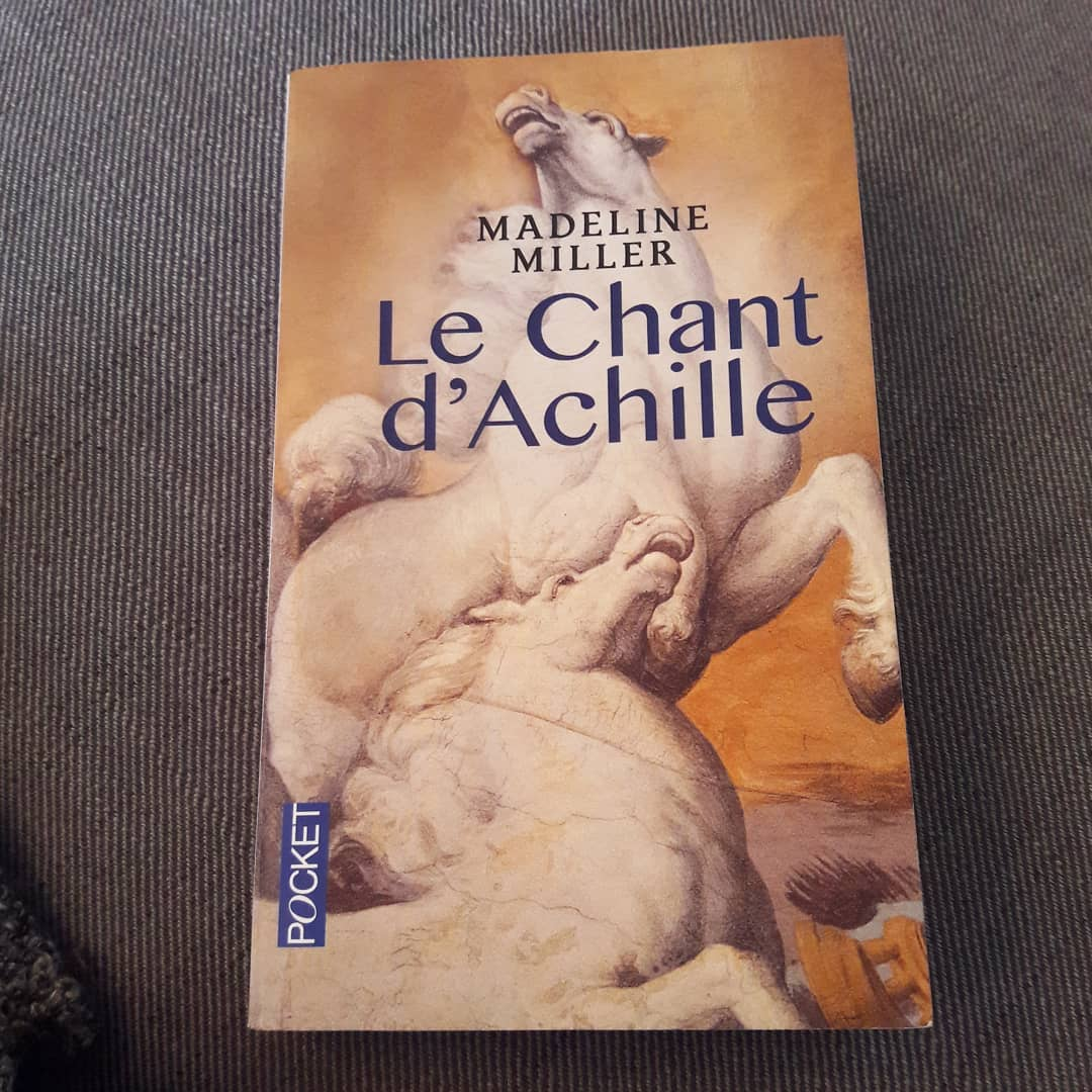 Couverture Le chant d'Achille