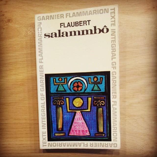 Couverture de Salammbo de G. Flaubert